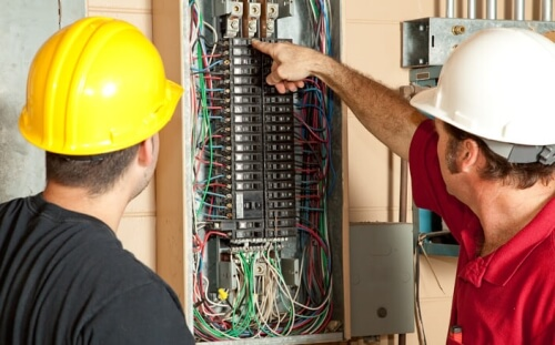 circuit breaker panel inspection
